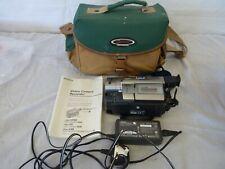SONY STEADY SHOT 80X ZOOM HANDYCAM CCD-TR717E VIDEO HI8 CAMCORDER