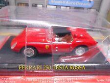FERRARI 250 Testa Rossa Testarossa 1957 - 1961 red rot IXO Altaya S-Preis 1:43