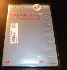 "New! MARVIN GAYE ""Live In Montreux 1980"" Special Edition (DVD+CD 2003) *SEALED*"
