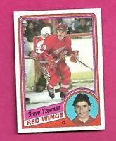 1984-85 TOPPS # 49 RED WINGS STEVE YZERMAN  ROOKIE NRMT CARD (INV# D2446)