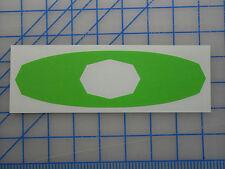 "Oakley Elite o logo decal sticker 5.5"" 7.5"" 11"" Gafas de sol Pit Boss asalto"