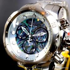 Invicta Reserve Venom Abalone Chronograph 52mm Swiss Mvt Steel Watch New