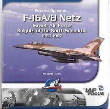 Isra Decal Publications F-16A/B Netz IAF, Knights of North Sqdn. Softcover Ref.