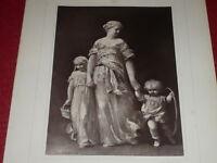 """[VINTAGE PHOTOGLYPTIE] J.L HAMON Peinture """"Gde Soeur"""" GALERIE CONTEMPORAINE 1878"""