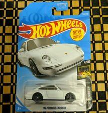 2019 HOT WHEELS '96 Porsche Carrera Nightburnerz 4/10; 155/250 [White]