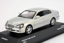 NISSAN CIMA 450 VIP 4.5 V8 2005 CHAMPAGNE SILVER JC08028SC 1/43 KYOSHO SILBER