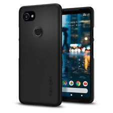 Google Pixel 2 XL Case, Spigen Thin Fit Cover Case - Black