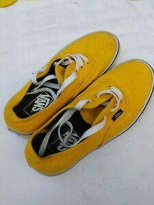 Yellow Vans US Size 6.5 Women's, 5 Mens
