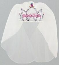"Hens Night Bride to Be Party Supplies - ""Bride to Be"" Tiara with Veil"