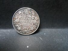 1911 Rare Canadian silver quarter, see photo