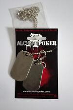 Alchemy Poker Dog Tags Blank Hundemarke Schmuck