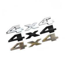 4x4 Emblem Badge 3D Decal Sticker Tailgate Nameplate for RAM 1500 2500 3500 OEM