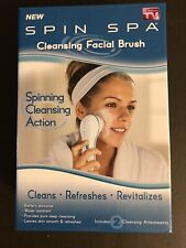 Spin Spa Cleansing Facial Brush - As Seen On Tv - New In Box