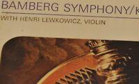 Henri Lewkowicz violin STEREO  Adagio Bruch Bamberg Woss  MINT (SXL ASD SAX )