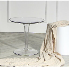 "Mini 20"" Round Acrylic Coffee Table"
