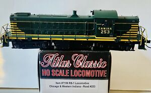 Atlas Classic HO RS1 Chicago & Western Indiana #253. Brand New