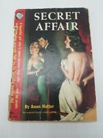 1951 Secret Affair Amos Hatter Cameo Digest 308 Ray Johnson Cover Vintage Sleaze