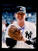 Goose Gossage PSA DNA Coa Hand Signed 8x10 Photo Autograph