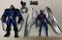 Marvel Legends Apocalypse BAF Archangel  Lot Set Complete Build A Figure