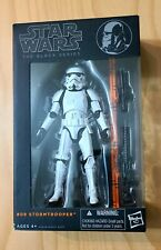 STAR WARS Black Series 6? Stormtrooper #09 Orange Line NEVER OPENED