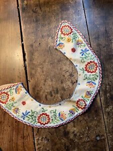 Vintage 40's Bohemian Embroidered Collar