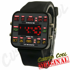 Back to The Future Time Circuit Themed Digital LED Watch Replica Prop