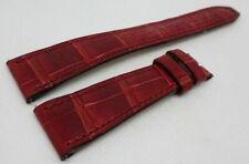 Pierre Kunz 20mm Red Alligator Strap OEM