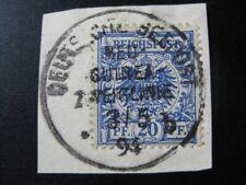NEW GUINEA GERMAN COLONY Mi. #V48 used forerunner stamp w/ rare Seepost cancel!
