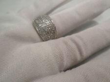 Cubic Zirconia Cluster Costume Rings
