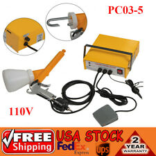 New Portable Electric Powder Coating System Paint Gun For Auto Body Coat Machine