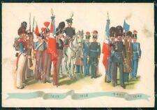 Militari Museo Storico Brigata Granatieri Uniformi Duval FG cartolina XF7224