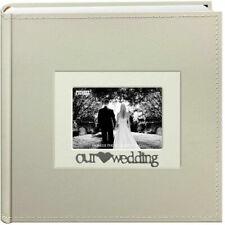 "Pioneer Photo Album 4""X6"", 2-Up, 200 Pocket Sentiments- Wedding"