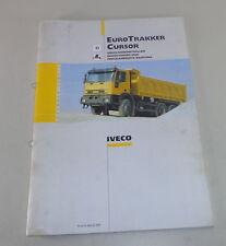 Wartungshandbuch Iveco Eurotrakker / Cursor Stand 03/1999