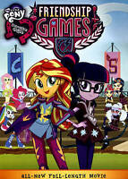 NEW My Little Pony: Equestria Girls - Friendship Games (DVD 2015) Sealed