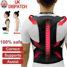 Posture Corrector Brace Women Men Full Back Support Clavicle Shoulder Belt Body