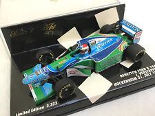 MINICHAMPS 1/43 Benetton Ford B194 J.VERSTAPPEN Hockenheim 1994
