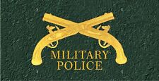 Military Police License Plate -LP 218
