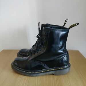 Dr Martens Pascal1460 8-Eye Leather Black Classic Boots  AirWair Size UK 5
