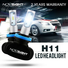NIGHTEYE H11 H8 H9 LED Headlight 50W 8000LM Globe 6500K HID White Fog Bulbs Kit