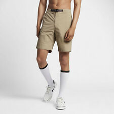 Nike FLEX Everett Pantaloncini SB Skateboard Marrone Tan da uomo-Taglia S 28