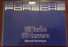 Manuel Technique original Porsche 911 3.2 L
