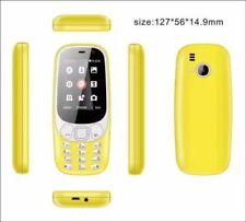 2017 Yellows NOKIA 3310 Dual SIM 2MP Camera Unlocked Sim simple mobile phone @12