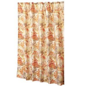 Antique Style Floral Fabric Shower Curtain Vintage Bath 70 x 72 Style Bathroom