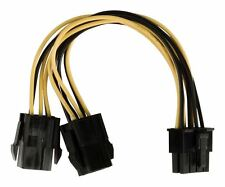 Glaxio interno Splitter Cavo EPS 8-pin - 2x PCI Express 6-pin 0.15 M