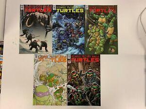 IDW TEENAGE MUTANT NINJA TURTLES #83 : ALL 5 COVERS BUNDLE : NM
