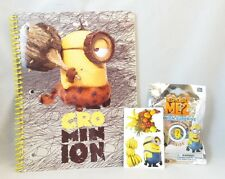 Minions Notebook and Gift Set Cro Minion School Supplies Stickers And Figurine