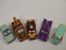 12 ) Disney Pixar Cars Set 5 verschiedene Cars Autos -  aus Metall