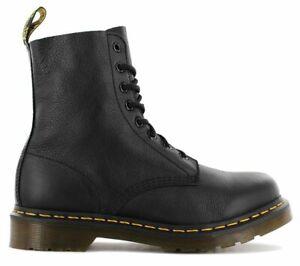 DR. DOC MARTENS 1460 Pascal Virginia Boots 13512006 Leder Stiefel Schwarz NEU