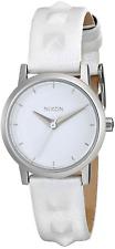 Nixon Kenzi Leather Studded Watch - NIB Womens / Ladies White - #30263-J1-1195