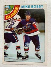 MIKE BOSSY OPC HOCKEY ROOKIE CARD-1978/79-NEW YORK ISLANDERS